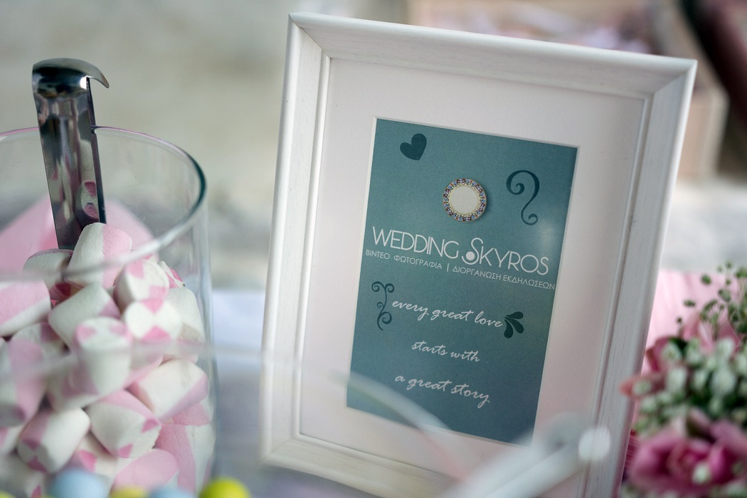 wedding skyros candy bar decoration sweets weddingskyros