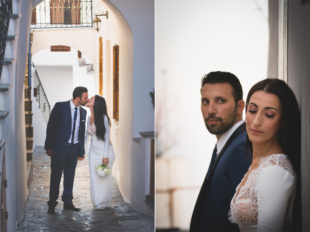 wedding skyros photogrpahy weddingphotography weddingingreece groom bride wedding dress next day