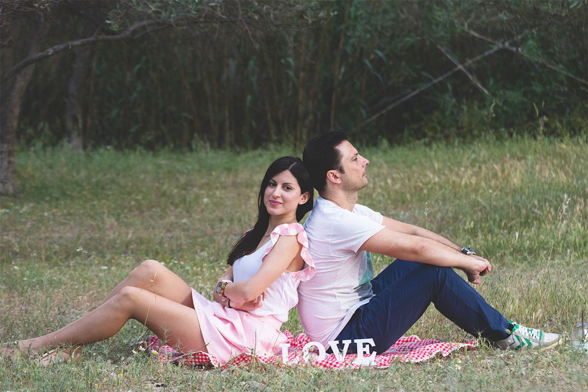 Pic nic prewedding photosession