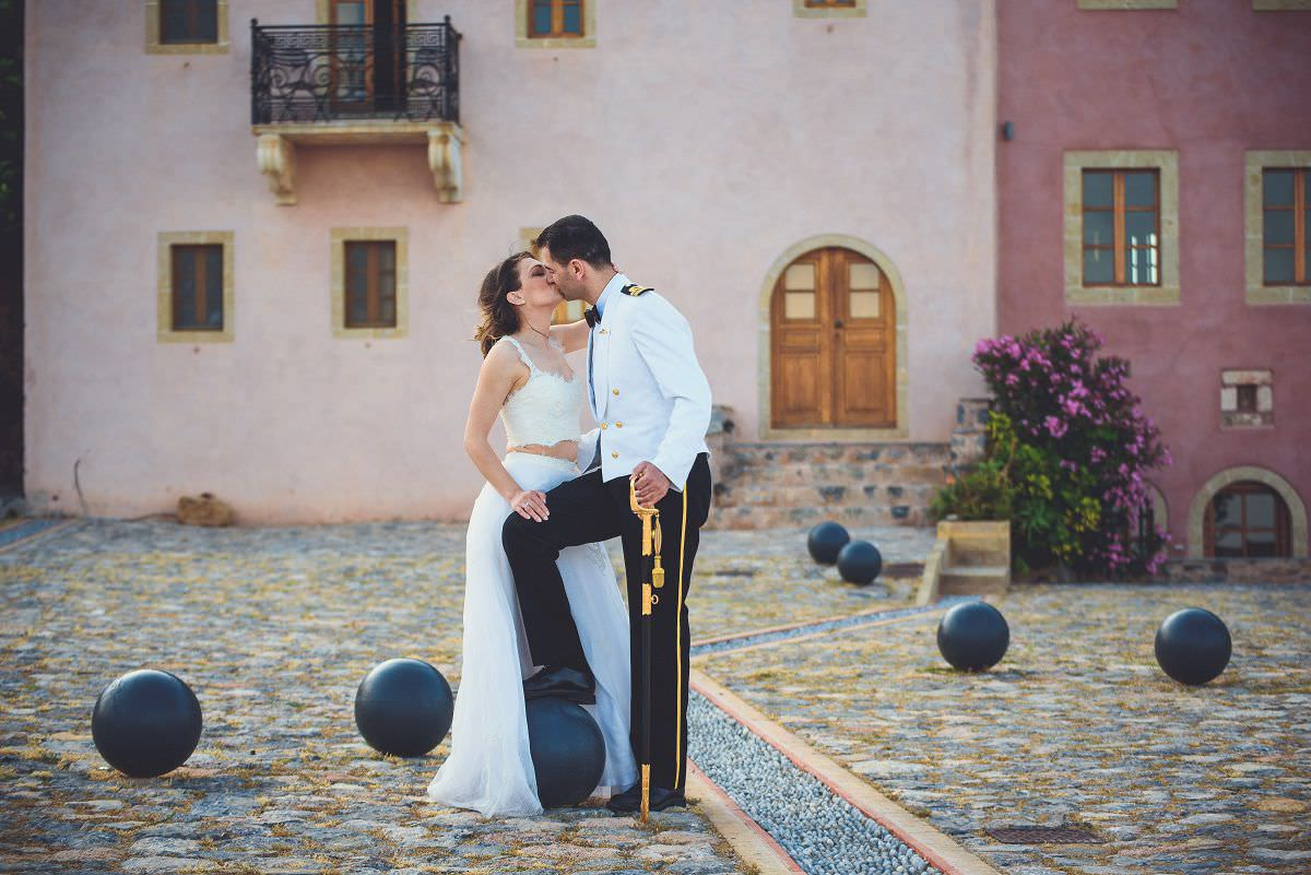 Chic & Romantic After Wedding Photoshoot at Monemvasia Old Town