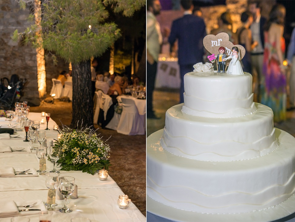 wishes atsitsa greece sporades skyros venue wedding weddingskyros decoration wedding cake